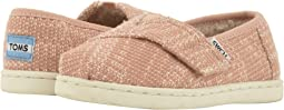 Rose Cloud Oblique Woven/Faux Shearling