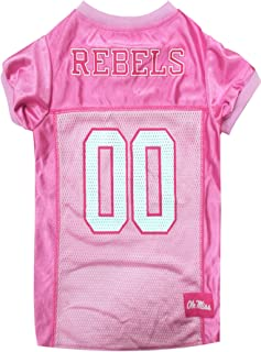 """NCAA Dog Pink Football Jersey - Pet Pink Sports Outfit"