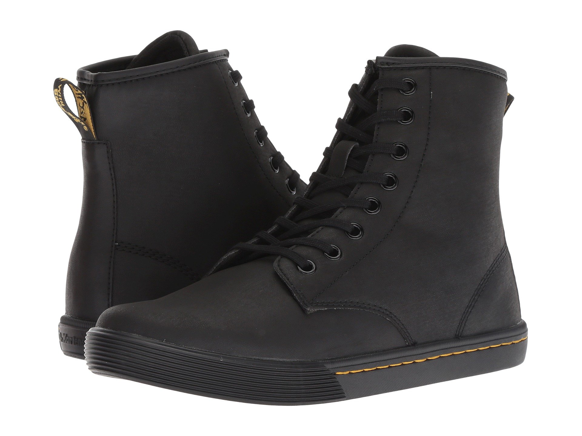 Mohawk black Non Synthetic Pu Black Sheridan Woven Octavo Martens Dr Soft HqPIH