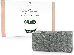 LoWell® Pierres de diffusion pour sauna -Accessoire pour séance sauna exceptionnelle- Diffusion idéale des cristaux de m...