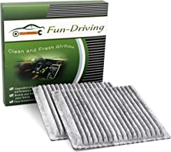 2-Pack Fun-Driving FD547 Cabin Air Filter for FORD,Edge,LINCOLN,MKX,MAZDA,CX-9,OEM# 7T4Z-19N619-B,7T4Z19N619B,L2Y6-61-P11,L2Y661P11