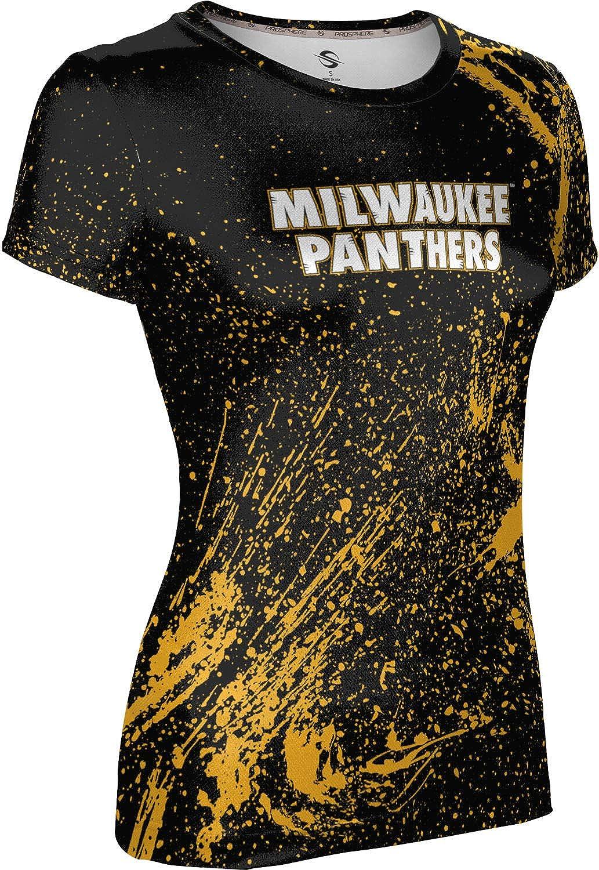 University of Wisconsin-Milwaukee Girls' Performance T-Shirt (Splatter)