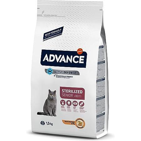 ADVANCE Senior Sterilized- Pienso para Gatos Adultos Esterilizados Senior - 1,5kg