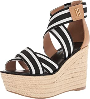 35498bb9c9 Amazon.com: Tommy Hilfiger - Platforms & Wedges / Sandals: Clothing ...