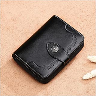 Wallet New Leather Women Wallet Small Female Small Lady Card Holder Ldies Purses Genuine Leather Short Coin Purse For Girl...