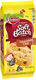KeeblerSoft Batch Cookies, Chocolate Chip, 15 ozTray