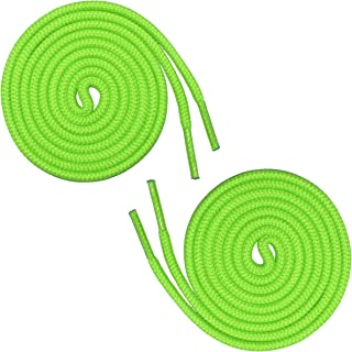 neon round shoelaces
