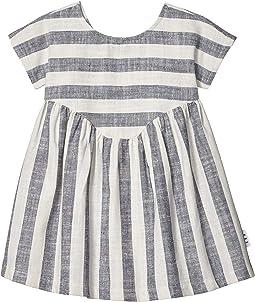 Stripe Yoke Dress (Infant/Toddler)
