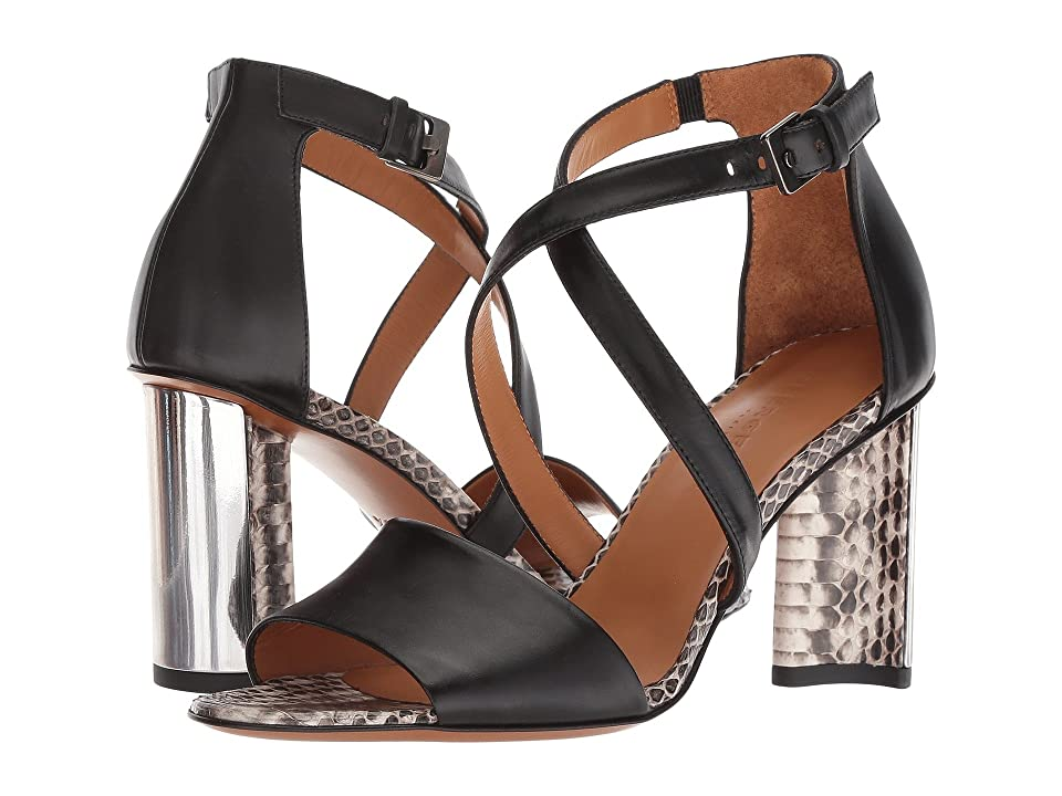 Clergerie Zian (Black Leather Calf) High Heels