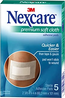 Nexcare™ Soft Cloth Dressings, 5ct (packaging may vary)