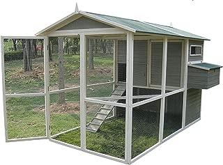 【アメリカINNOVATIONPET】 他ではほとんど見ないデザインの鳥小屋です。イノベーションペットCoops & Feathers® エクストリームウォークインバードケージ