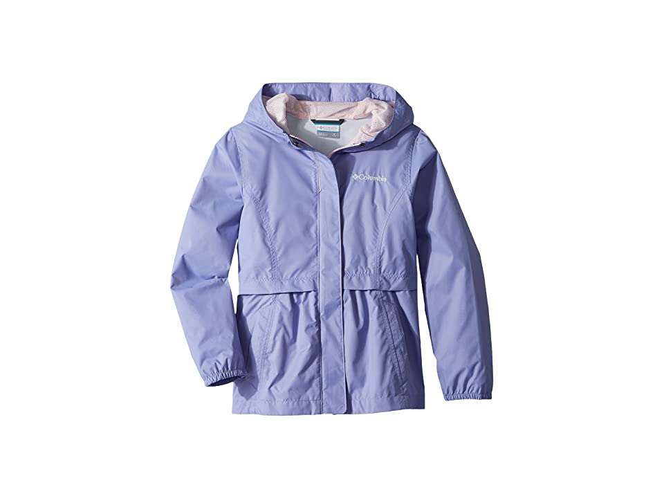 Columbia Kids Pardon My Trench Rain Jacket (Little Kids/Big Kids) (Fiarytale/Whitened Pink) Girl