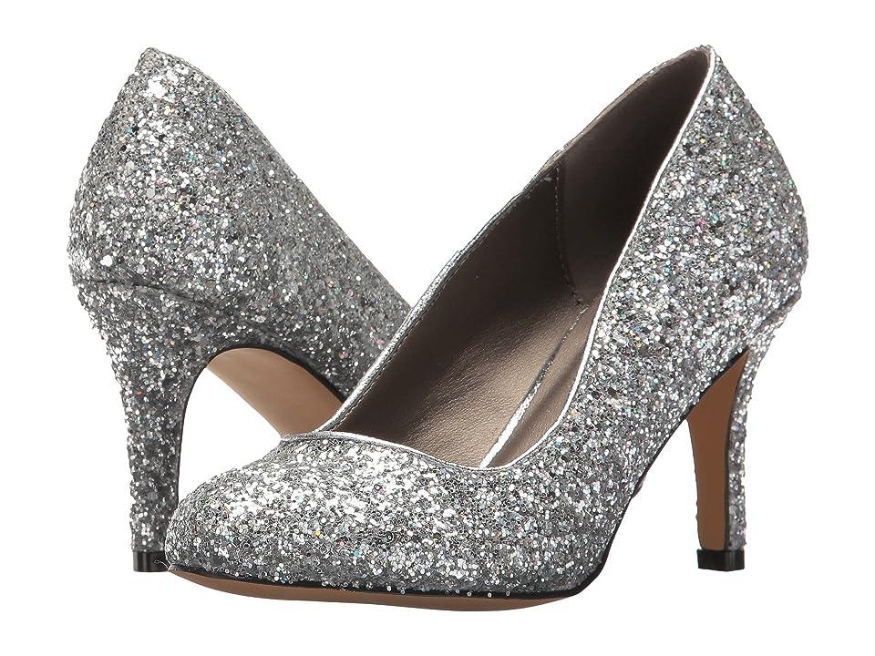 Michael Antonio Finnea Glitter (Silver) High Heels