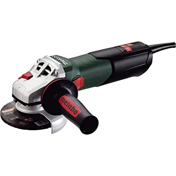 """Metabo- 4.5"""" Angle Grinder - 10, 500 Rpm - 8.5 Amp W/Lock-On (600371420 9-115 Quick), Professional Angle Grinders"""