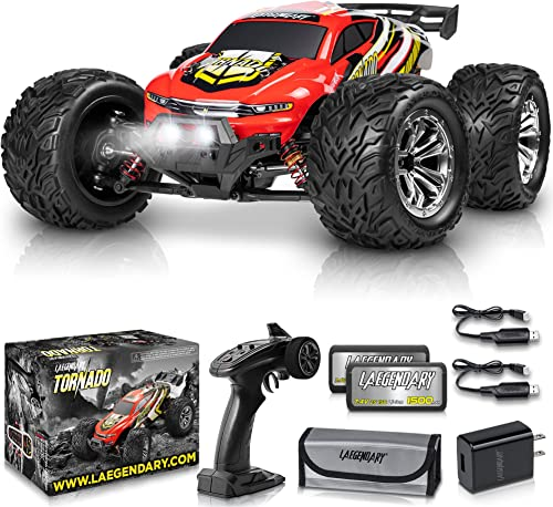 new arrival 1:12 Scale Large RC Cars 48+ kmh Speed - Boys Remote Control Car 4x4 Off Road Monster Truck Electric - All Terrain Waterproof Toys Trucks for discount Kids and Adults - 2 Batteries + Connector for 30+ Min new arrival Play sale