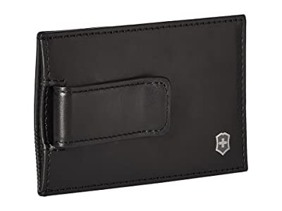 Victorinox Altius Edge Napier Money Clip w/ RFID (Black) Travel Pouch