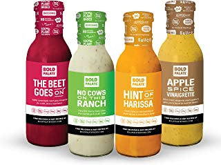 Sponsored Ad - Bold Palate The Beet Goes On, No Cows On This Ranch, Apple Spice Vinaigrette, Hint Of Harissa  Salad Dressi...