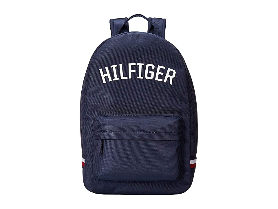 Tommy Hilfiger Zachary Cordura Nylon Backpack (Tommy Navy) Backpack Bags