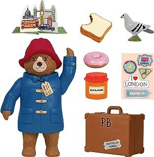 paddington bear teddy with suitcase