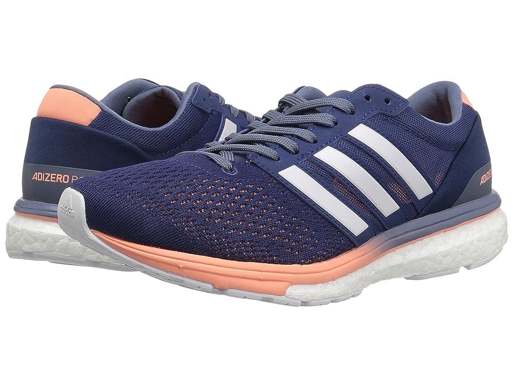期待する五月球状(アディダス) adidas レディースランニングシューズ?スニーカー?靴 adiZero Boston 6 Noble Indigo/Footwear White/Raw Steel 12 (29cm) B - Medium