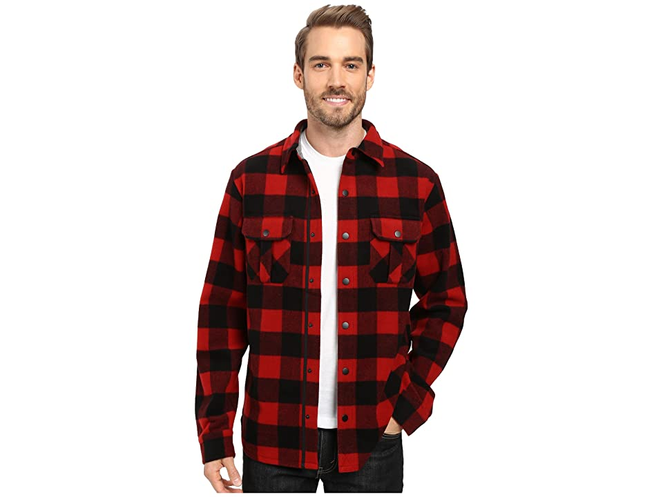 Smartwool Anchor Line Shirt Jacket (Crimson) Men