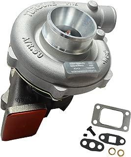 BLACKHORSE-RACING Trim Turbo Turbocharger Compressor 400 + HP Boost Stage III T04E T3/T4 .63 A/R 57