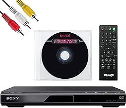 Sony DVPSR210P DVD Progressive Scan Player - AV Cable - NeeGo Lens Cleaner