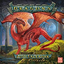 Dragons by Ciruelo 2015 Wall Calendar