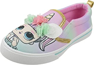 L.O.L. Surprise! Girls Sneaker,Slip On,Low Top Fashion and Tennis Shoe,Toddler Size 10 to Girls Size 2