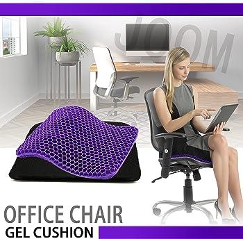 JOOM Purple Gel Seat Chair Cushion