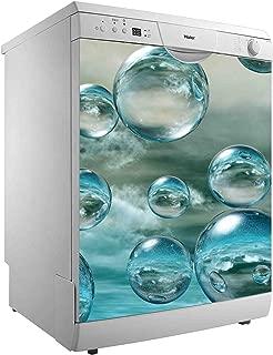 Vinilo para Lavavajillas Burbujas de Agua | Varias Medidas 50x48cm ...