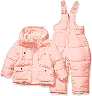 Steve Madden Baby Girls 2 Piece Snowsuit Set