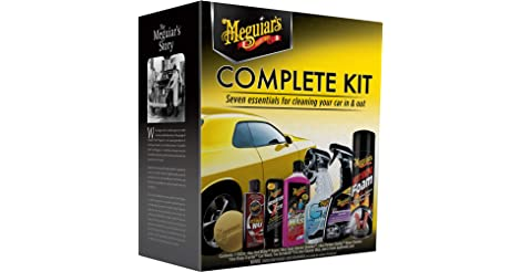Meguiars Wax G19900 Complete Car Care Kit only $23.88