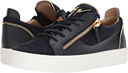 May London Zipper Low Top Sneaker