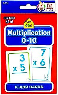 School Zone Flash Card Multiplication