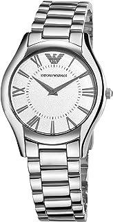 Emporio Armani Super Slim Bracelet Silver Dial Women's watch #AR2056