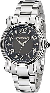 Roberto Cavalli - Anniversary Lady R7253172525 - Reloj de Mujer de Cuarzo, Correa de Acero Inoxidable Color Plata