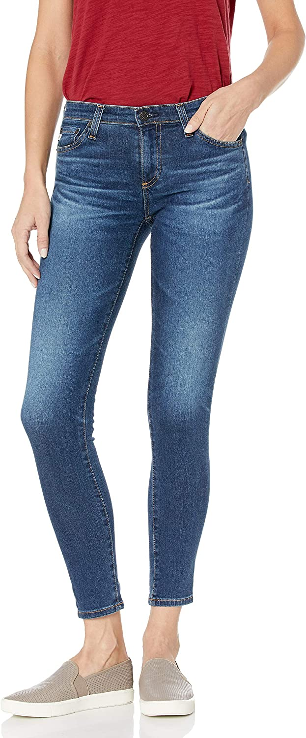 AG Adriano Goldschmied Womens Legging Super Skinny Fit Ankle Jean