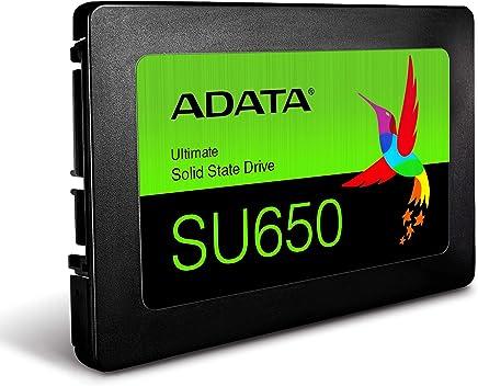 ADATA HD-1819 Unidad de Estado Solido SSD Su650 960Gb 2.5 Sata3 7 mm, Lect.520/Escr.450Mbs Sin Bracket PC Laptop Laptop,