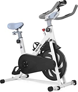 REXARC スピンバイク フィットネスバイク 整音 ダイエット エクササイズ 有酸素運動 サイクリング 無段階負荷調整