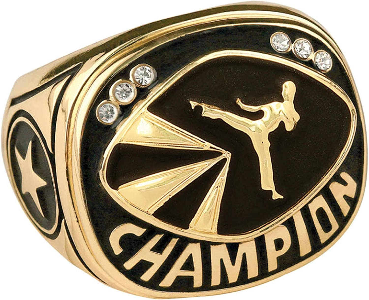 Champion Martial Arts Karate Judo Trophy Ring to Sizes NEW in w Portland Mall 15 6