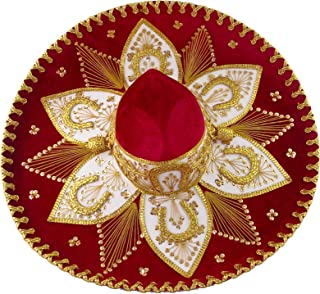 Best red and gold sombrero Reviews