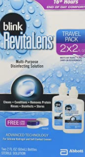 Blink RevitaLens Multi-Purpose Disinfecting Solution, Two 2 oz (Pack of 3)