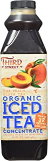 Third Street Organic Peach Black Tea, 32-Ounce (Pack of 6)