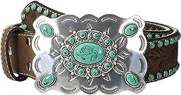 M&F Western - Nocona Southwest Turquoise Buckle Belt