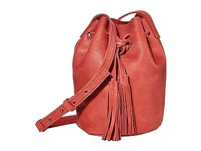 ABLE Maria Bucket Bag (Brick Red) Shoulder Handbags