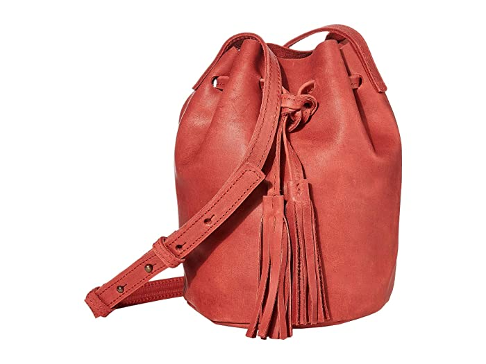 ABLE  Maria Bucket Bag (Brick Red) Shoulder Handbags