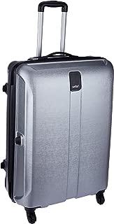 Safari Thorium Stubble 66 Cms Polycarbonate Silver Check-In 4 wheels  Hard Suitcase