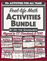 Real-life Math Activities for the Whole School Year Middle School Curriculum