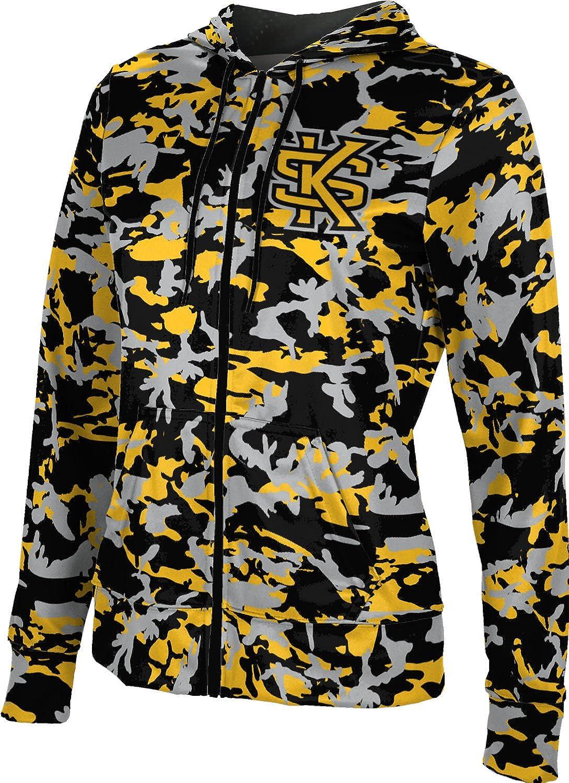 ProSphere Kennesaw State University Girls' Zipper Hoodie, School Spirit Sweatshirt (Camo)